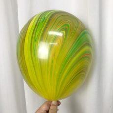 Латексный шар 11″ супер агат traditional