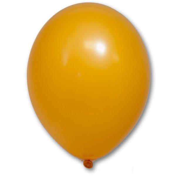 Латексный шар пастель оранжевый