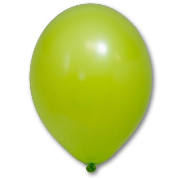 Латексный шар пастель зеленое яблоко