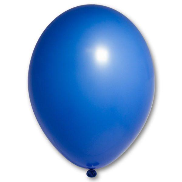 Латексный шар пастель синий