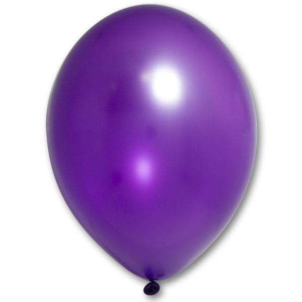"""Латексный шар 12"""" фиолетовый"""