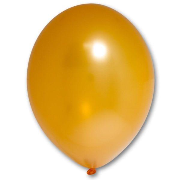 Латексный шар оранжевый
