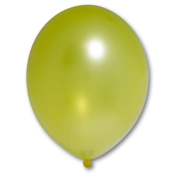 Латексный шар желтый