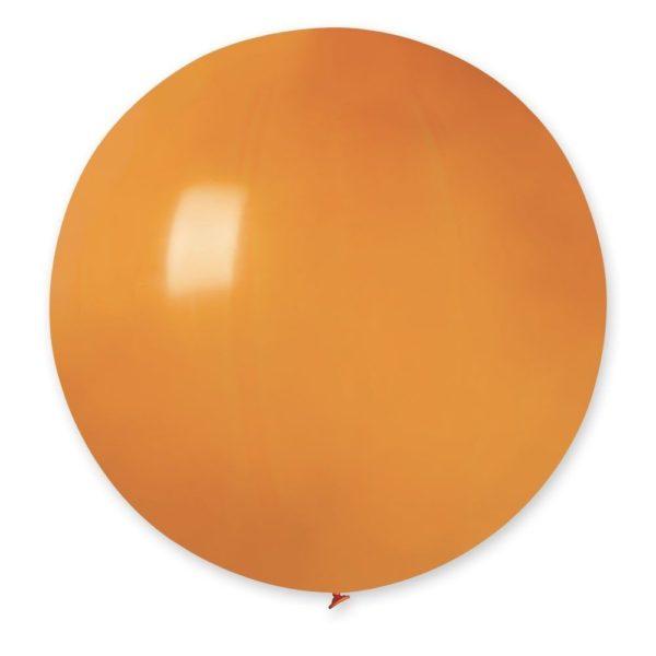 Латексный шар гигант оранжевый