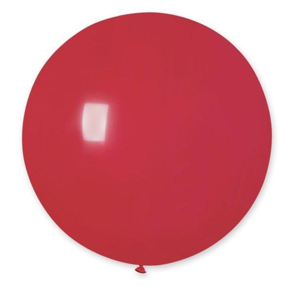 Латексный шар гигант красный