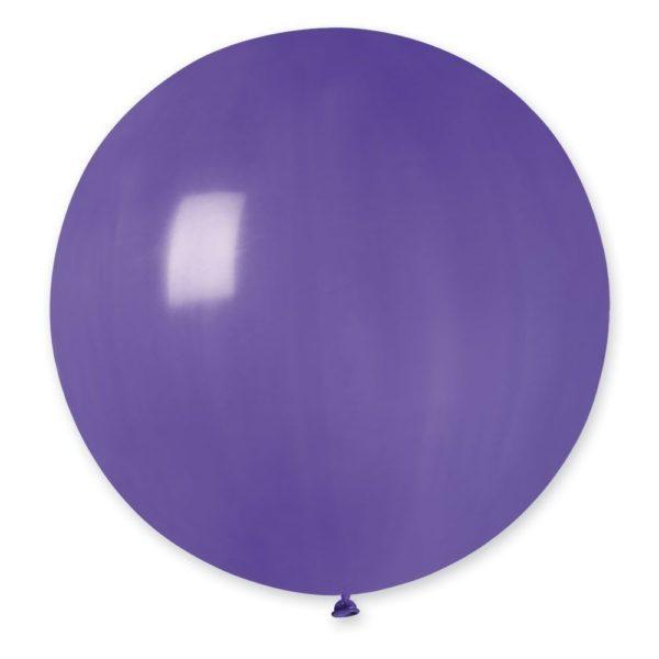 Латексный шар гигант фиолетовый