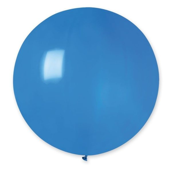 Латексный шар гигант синий