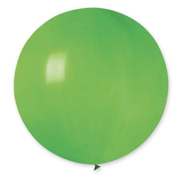 Латексный шар гигант зеленый
