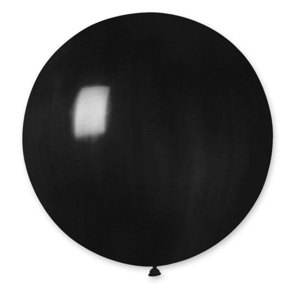Латексный шар гигант черный