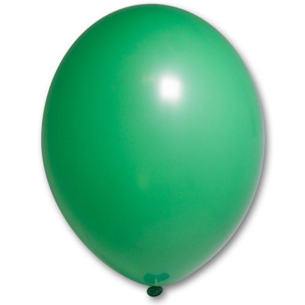Латексный шар пастель ярко-зелёный