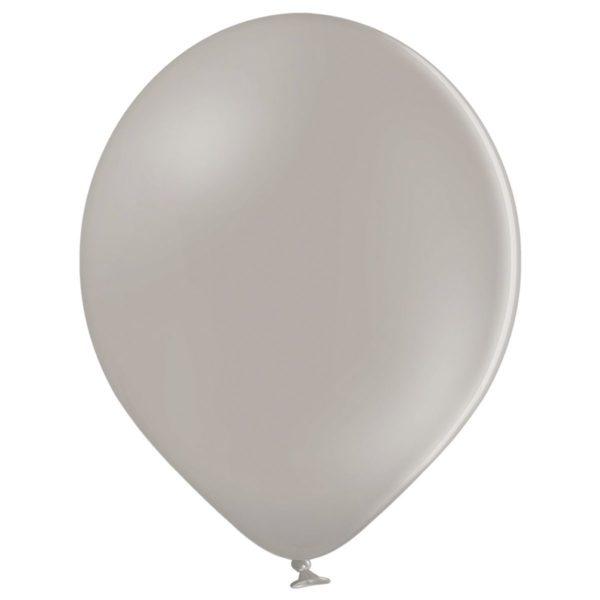 Латексный шар пастель светло-серый