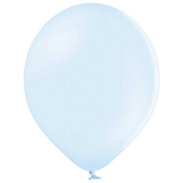 Латексный шар пастель светло-голубой макарун