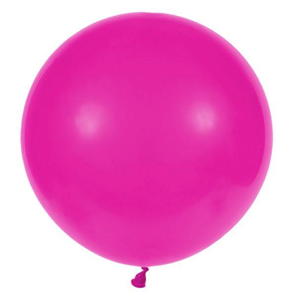 Латексный шар гигант фуксия