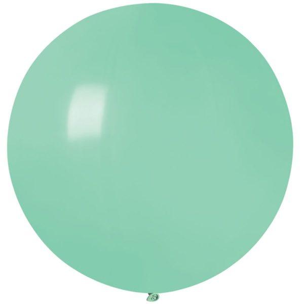 Латексный шар гигант мятный