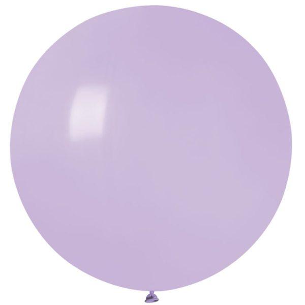 Латексный шар гигант сирень