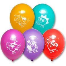 Латексный шар пастель 12″ смешарики
