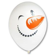 Латексный шар 14″ снеовик