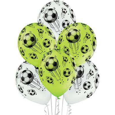 Латексный шар металлик 14″ мяч футбольный