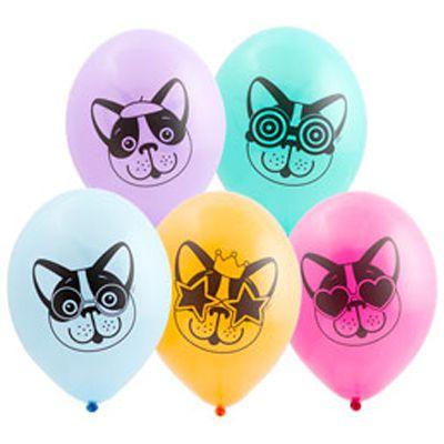 Латексный шар 14″ собачки