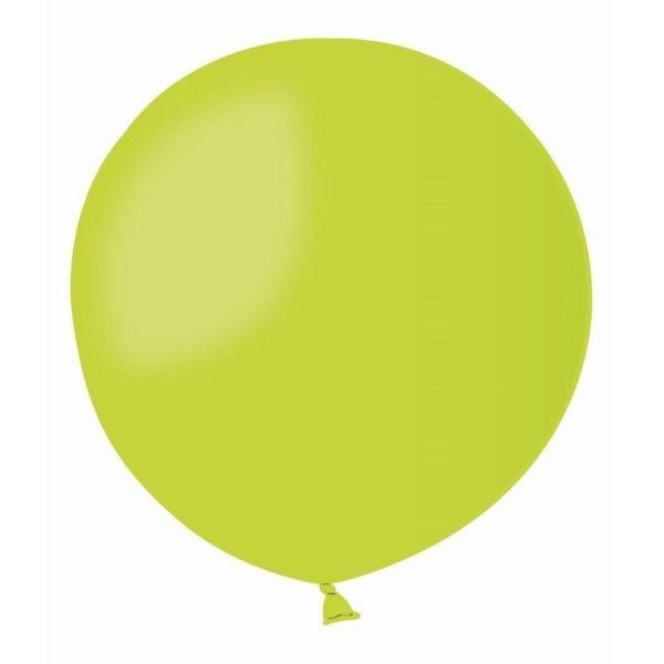 Латексный шар гигант светло-зеленый