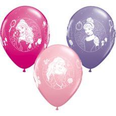 Латексный шар 11″ принцессы дисней