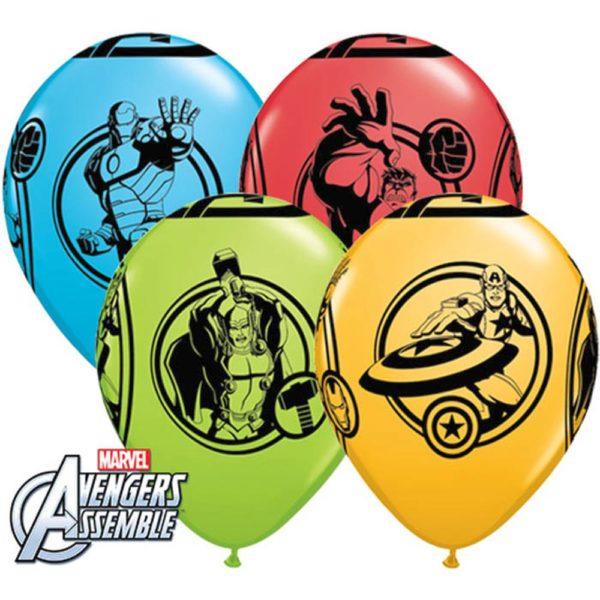 """Латексные шары 11"""" мстители"""