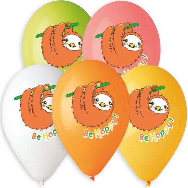 """Латексные шары 14"""" """"ленивец"""""""