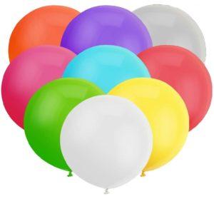 Латексные шарики гиганты 27 поштучно