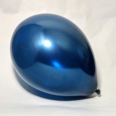 Латексный шар 11″ металлик темно-синий pearl midnight blue