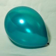 Латексный шар 11″ металлик аквамарин pearl teal