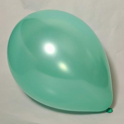 "Латексные шары 11"" металлик мятный pearl mint green"
