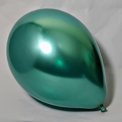 Латексный шар 11″ хром зеленый chrome green