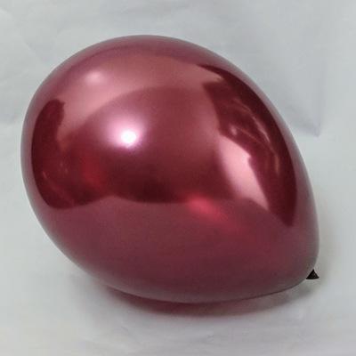 Латексный шар 11″ металлик бургундий pearl burgundy