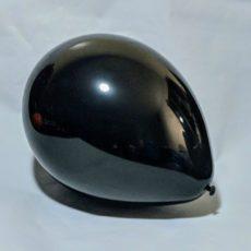 """Латексный шар 11"""" пастель черный"""