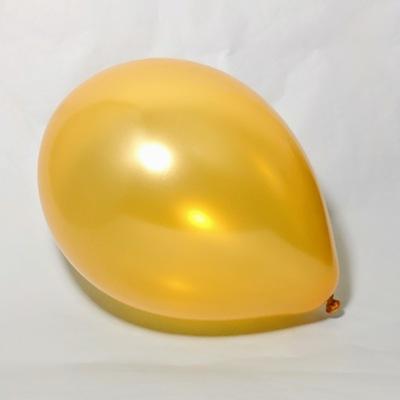Латексный шар 11″ металлик золотистый gold