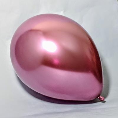 Латексный шар 11″ хром розовый chrome mauve