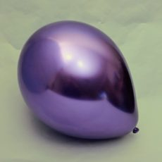 Латексный шар 11″ хром фиолетовый purple