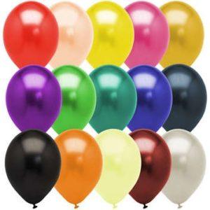 Латексные шарики металик Belbal поштучно