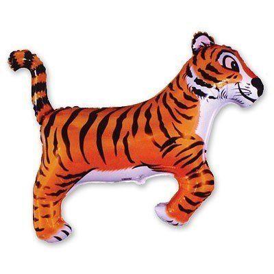 Фольгированный шар тигр