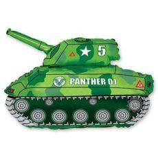 Фольгированный шар танк