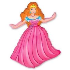 Фольгированный шар принцесса