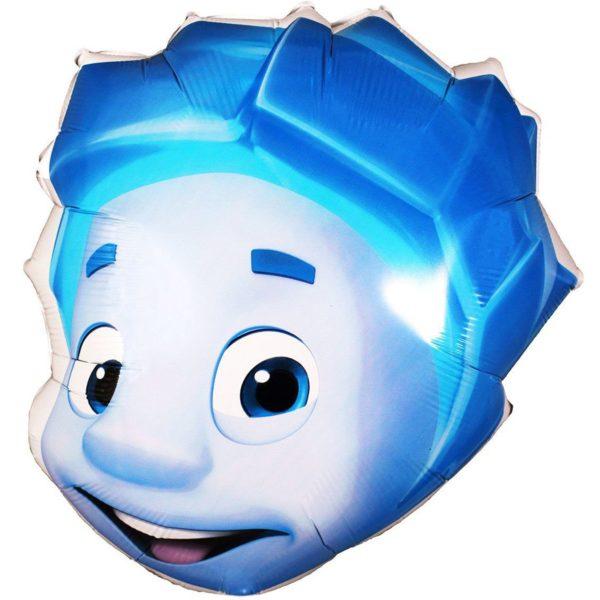 Фольгированный шар фиксики Нолик