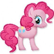 Фольгированный шар my little pony пинки пай розовый