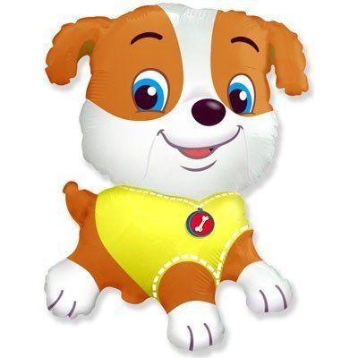 Фольгированный шар собачка мальчик