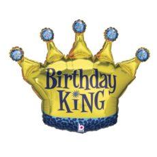 Фольгированный шар корона короля