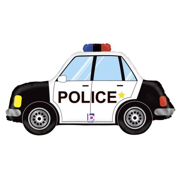 Фольгированный шар полицейская машина