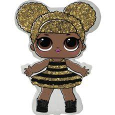 Фольгированный шар кукла лол квин би lol queen bee