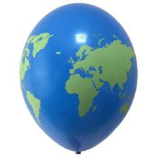 Латексный шар планета земля