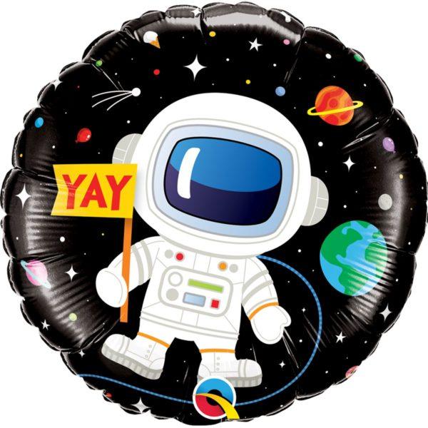 Фольгированные шарики с рисунком hb космос 18″ (45см)