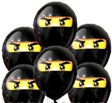 латексный шарик Ниндзяго.